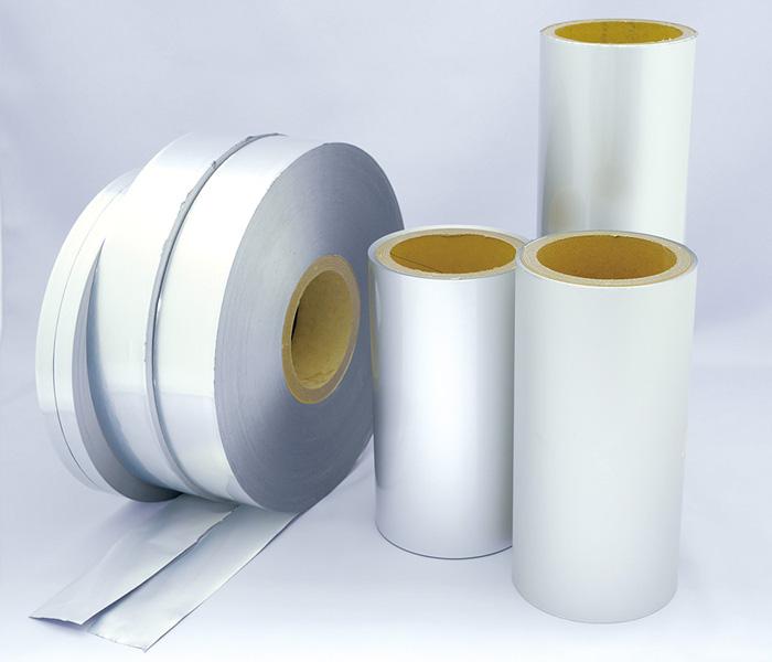 金属箔ラミネートフィルム/熱接着フィルムの製造